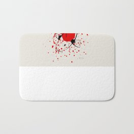 Bleeding Japan Bath Mat