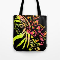 indie Tote Bags featuring Midnight Indie by trendaholic