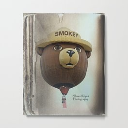Smokey Balloon Metal Print