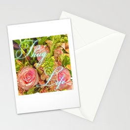 Thug Life Roses Stationery Cards