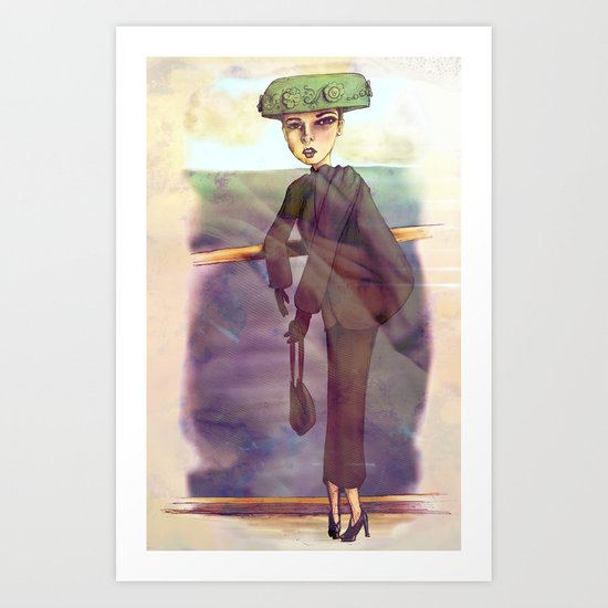 Du Pont Art Print