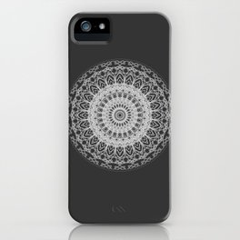 Mandala blast iPhone Case