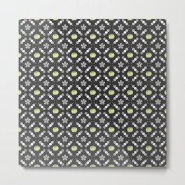 Hanami Nummies | Black Matcha Metal Print