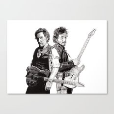 Bruce & Bruce Canvas Print