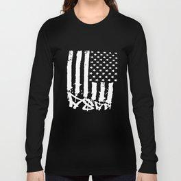 Asap Rocky White Flag Mob Squad Big Tour Squad T-Shirts Long Sleeve T-shirt