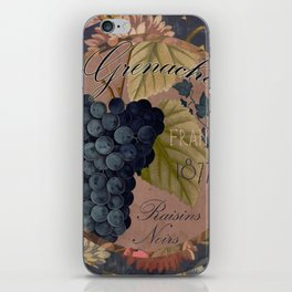 Wines of France Grenache iPhone Skin