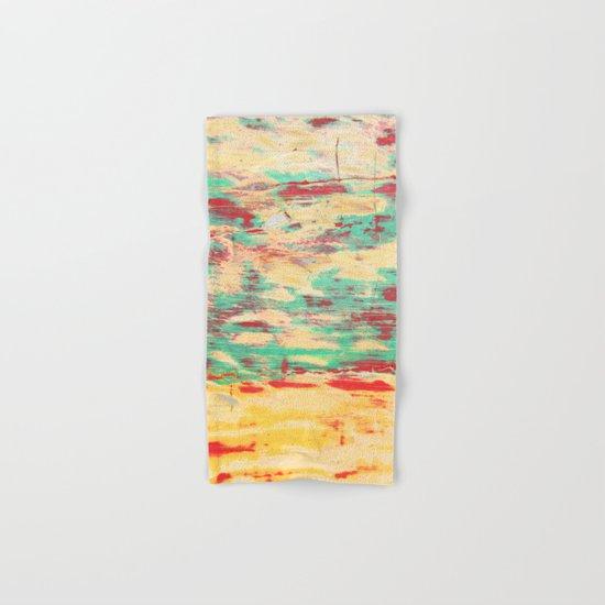 Wooden Pattern Hand & Bath Towel
