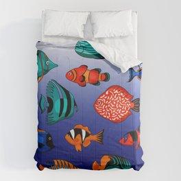 Peces tropicales Comforters