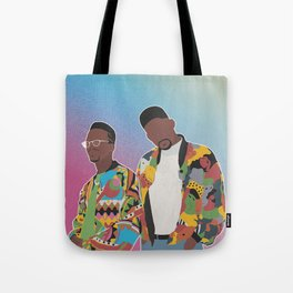 DJ JAZZY JEFF & THE FRESH PRINCE Tote Bag