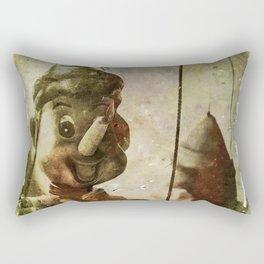 Povero Pinocchio Rectangular Pillow