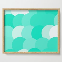Bubbles Serving Tray
