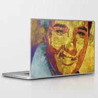 elvis presley Laptop & iPad Skins featuring Elvis Presley by Pedro Nogueira