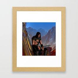 Lost Warrior Framed Art Print