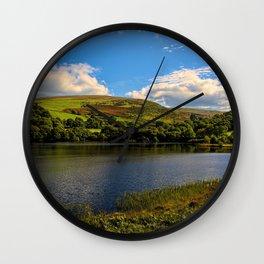 Dolymynach Reservoir, Rhayader Wall Clock
