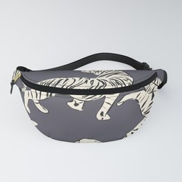 White tiger pattern 002 Fanny Pack