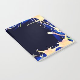 Ink Border inverse Notebook