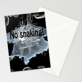 No snaking! Stationery Cards
