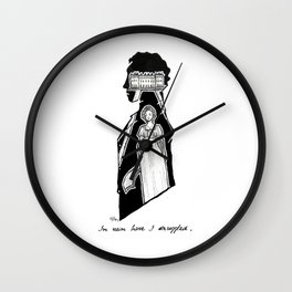 M. Darcy  Wall Clock