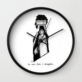 M. Darcy  Wall Clock