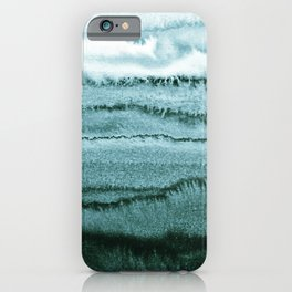WITHIN THE TIDES - OCEAN TEAL iPhone Case