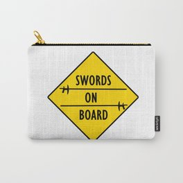 Swords On Board Carry-All Pouch