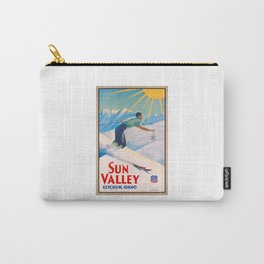 1940 Sun Valley Union Pacific Poster Carry-All Pouch