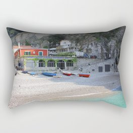 Italian Seaside Rectangular Pillow
