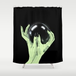 Crystallomancy Shower Curtain