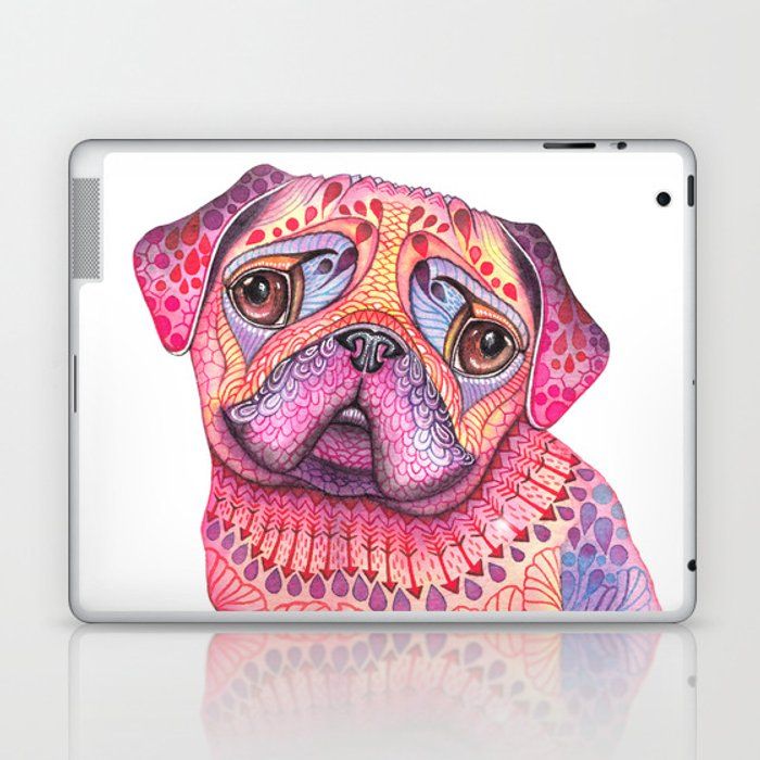 Pugberry Laptop & iPad Skin