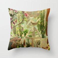 Lil' Garden Throw Pillow