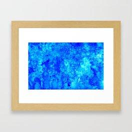 Winter Crystals Framed Art Print