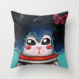Hamstercitos Throw Pillow
