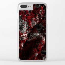 Sardinia Red Rock Clear iPhone Case
