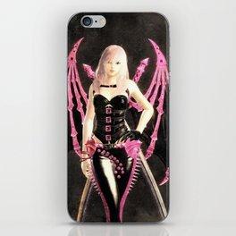 Black pink Evyya iPhone Skin