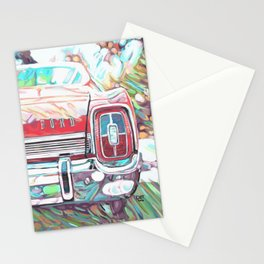 Red 67 Galaxie Stationery Cards