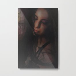The Brightening Portrait Metal Print