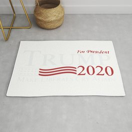 Trump For President Make Liberals Cry Again 2020 Rug