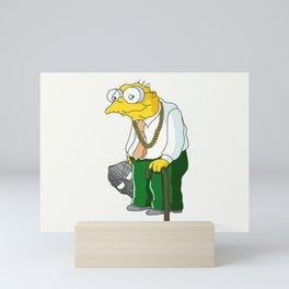 MF Moleman Mini Art Print