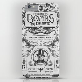 Legend of Zelda Bomb Advertisement Poster iPhone Case