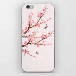 Pink Cherry Blossom Dream iPhone Skin