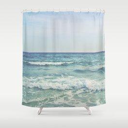 Ocean Crashing Waves Shower Curtain