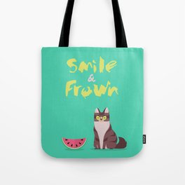 Smile and Frown Tote Bag