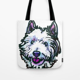 The Westie Dog Love of my Life Tote Bag