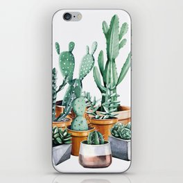 Potted Cacti iPhone Skin