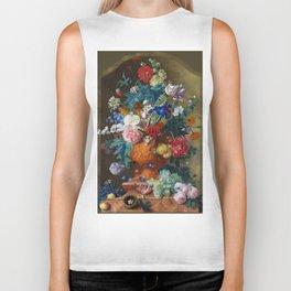 "Jan van Huysum ""Flowers in a Terracotta Vase"" Biker Tank"