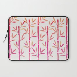 Bamboo Stems – Pink Palette Laptop Sleeve