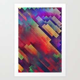 spyctrym yf yngyr Art Print