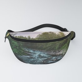 PNW River Run II - Pacific Northwest Nature Photography Fanny Pack