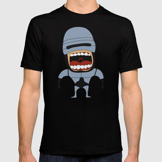 Screaming Robocop T-shirt