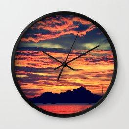 Palawan Sunset Wall Clock